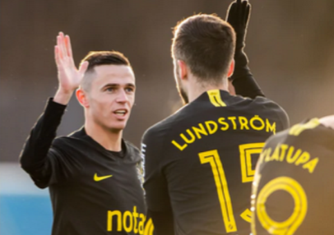 Jasir Asani shënon tjetër gol në Suedi