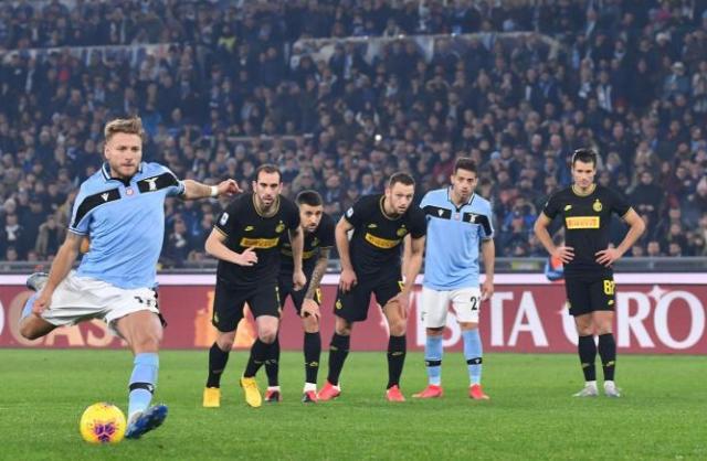 """Inter mundet në """"Olimpiko"""" nga Lacio"""