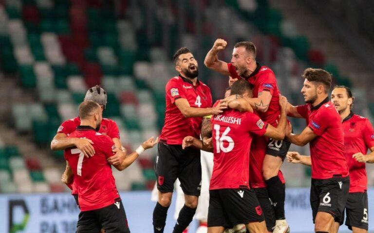 Shqipëria e nis me fitore edicionin e ri të Ligës së Kombeve, mundi Bjellorusinë