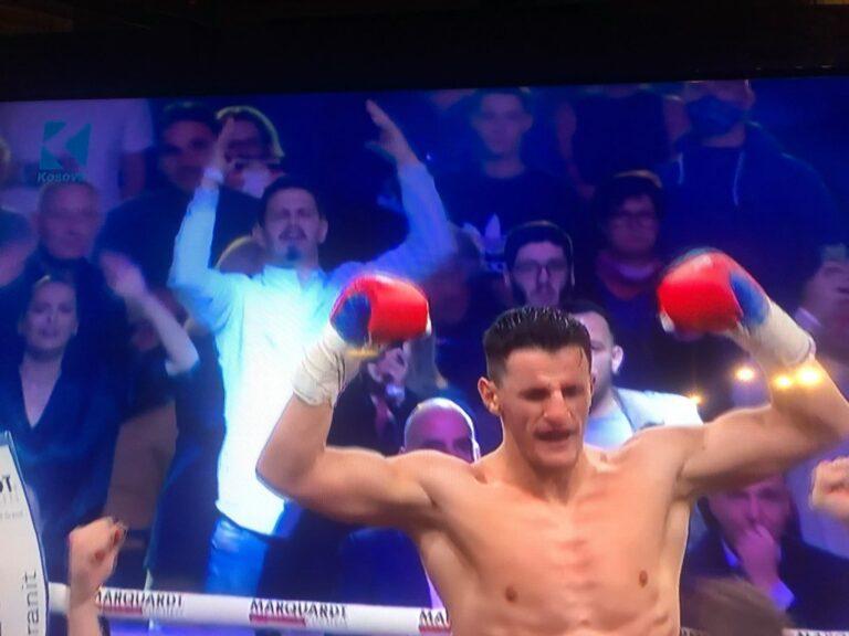 Haxhi Krasniqi kampion bote në boks