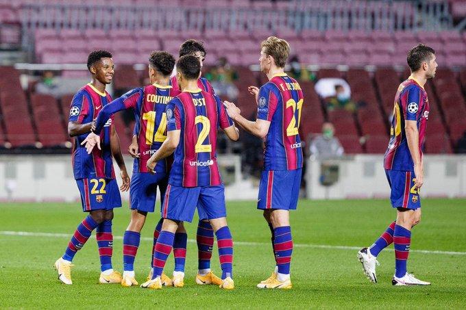 Barcelona e nis me fitore në Champions