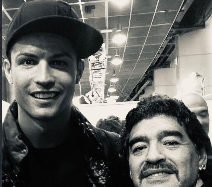 Fjalët e Ronaldos pas vdekjes së Maradonës