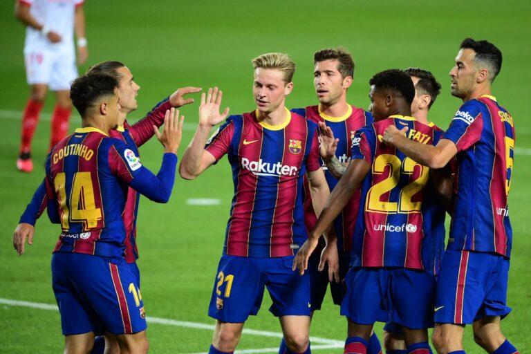 Barcelona zbret pagat e lojtarëve për 122 milionë euro