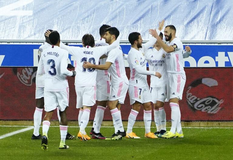 Shkëlqen Hazard, Reali triumfon me rezultat të thellë ndaj Alaves