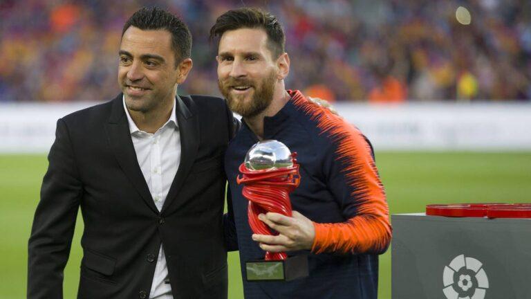 Lionel Messi thyen rekordin e Xavit në numrin e paraqitjeve në La Liga