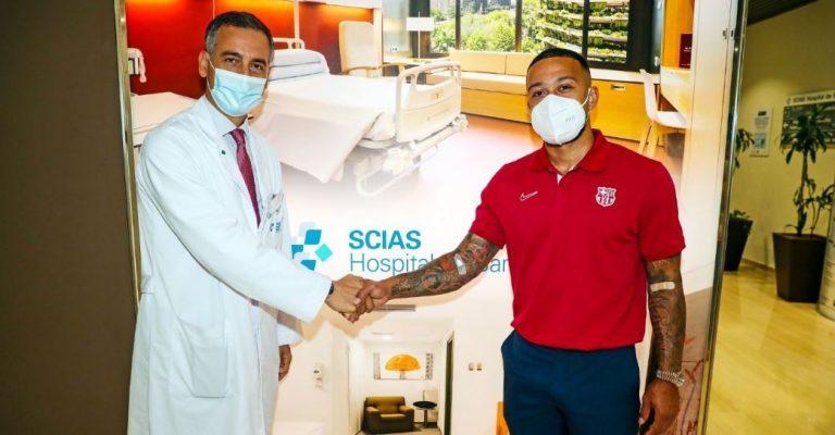 Depay kalon me sukses testet mjekësore te Barcelona, gjatë javës prezantohet para mediave